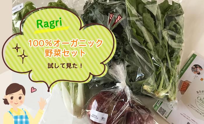 楽天ラグリ(Ragri)100%オーガニック野菜セットを試してみた!