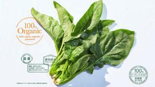 100%オーガニック野菜&サラダ定期宅配