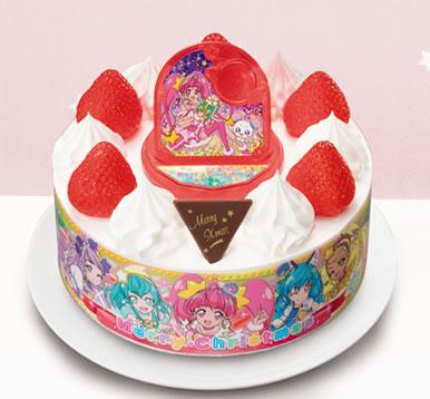 スター☆トゥインクル プリキュア キャラデコクリスマスケーキ