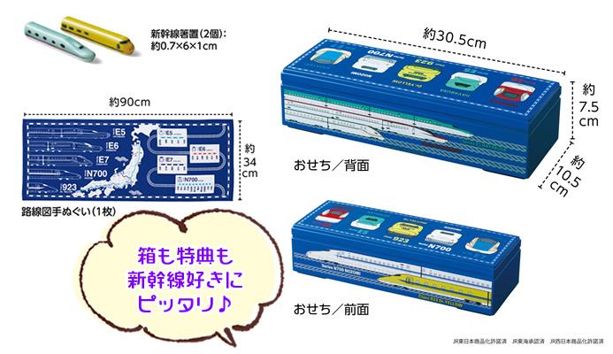 新幹線の特典にも注目!